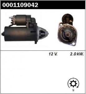 Купить стартер 0001109042 для Газ Волга, Газель Штайер