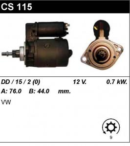 Купить стартер CS115 для VW Transporter