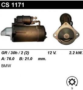 Купить стартер CS1171 для BMW, Land Rover Range Rover 2002