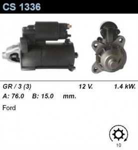 Купить стартер CS1336 для VW, Hyundai, Ford