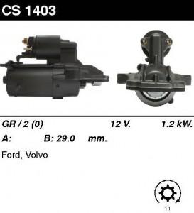 Купить стартер CS1403 для Ford, Volvo