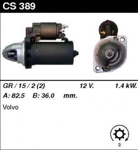 Купить стартер CS389 для Volvo