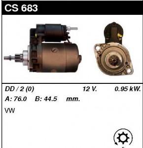 Купить стартер CS683 для VW Transporter