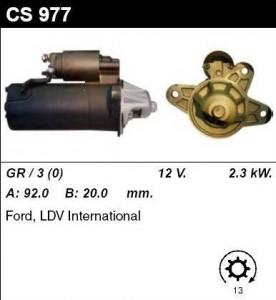 Купить стартер CS977 для Ford Transit