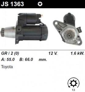 Купить стартер 428000-4530 для Toyota Avensis