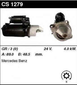 Купить стартер CS1279 для  Mercedes LK, MK, T2