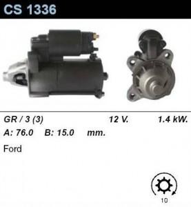 Купить стартер CS1336 для VW, Hyundai, Ford
