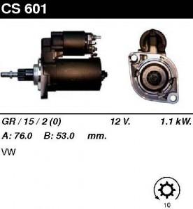 Купить стартер CS601 для VW Passat, Corrado