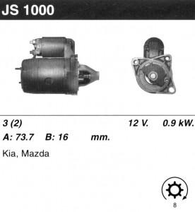 Купить стартер JS1000 для KIA, Mazda