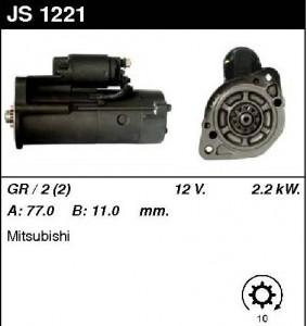 Купить стартер JS1221 для Mitsubishi Galant, Canter, Pajero